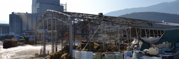 Feuer Großbrand Südtirol Tiroler Versicherung